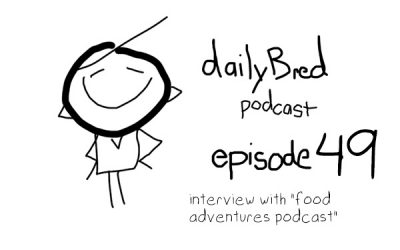 Episode 49: interview with the food adventure podcast